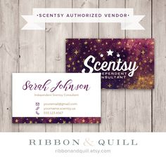 71 best thirty one scentsy business cards images on pinterest authorized scentsy vendor scentsy galaxy business card printed cards reheart Image collections
