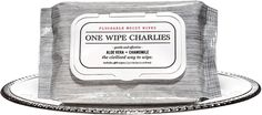 One Wipe Charlies - Peppermint Scented Butt Wipes For Men, the civilized way to wipe