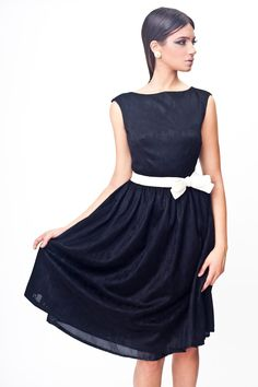Free shipping Lace black Dress bridesmaids Dress by MikiBeFashion, $159.00
