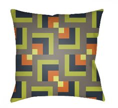 20 Moderne Pillow in Lime Arrows