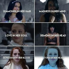 Riverdale girls A couple of these I can relate too💔 Riverdale Quotes, Bughead Riverdale, Riverdale Archie, Riverdale Funny, Riverdale Poster, Zack Et Cody, Riverdale Aesthetic, Riverdale Cole Sprouse, Riverdale Characters