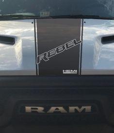 Dodge Ram 1500 2500 3500 Vinyl Decal Racing Sticker Stripe Hemi Mopar 5.7L T-201