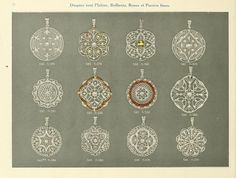 Jewelry catalogue {E. Bansse - Paris}