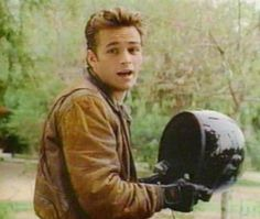 Dylan McKay (Luke Perry)-Beverly Hills 90210. Because we, along with Brenda, wanted to save his brooding, tormented soul.