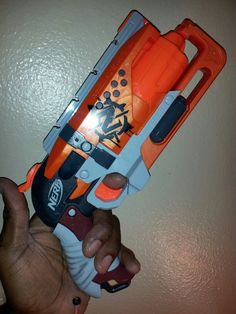 "Stock Nerf Zombie strike ""Hammerstrike"" the best Nerf gun ever!!!"