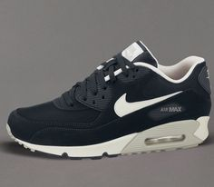 online store a0be7 89a2f Nike Air Max 90 Essential – Black   Mortar – Mine Grey
