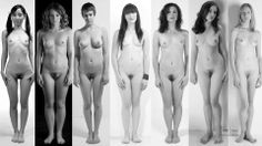 Artist Reference | Figure Study | figure comparison | from nude-muse dot com.