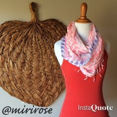 AEO Infinity Scarf Perfect summer scarf with soft Indian cotton and fringe. Infinity. Great with a tank and jeans or cut-offs for some extra color. ☀️Made by AEO. American Eagle Outfitters Accessories Scarves & Wraps