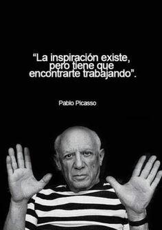 Frase inspiradora de Pablo Picasso
