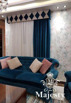 Home Curtains, Curtains With Blinds, Valances, Classy Living Room, Living Room Decor, Bedroom Decor, Curtain Pelmet, Diy Tufted Headboard, Classic Curtains