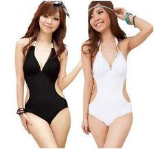 ONE PIECE LADIES SWIMWEAR/ 2 COLORS, 4 SIZES(M,L,XL,XXL) ($19.95)  Free Shipping from China
