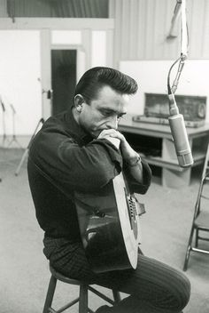 """I wore black because I liked it. I still do, and wearing it still means something to me. It's still my symbol of rebellion -- against a stagnant status quo, against our hypocritical houses of God, against people whose minds are closed to others' ideas.""   -Johnny Cash"