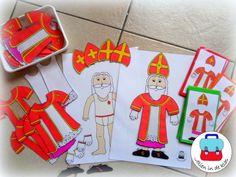 Aankleedpuzzel Sinterklaas ( Jolien in de klas)  Voor alle leeftijden, te koop bij Jolien in de klas
