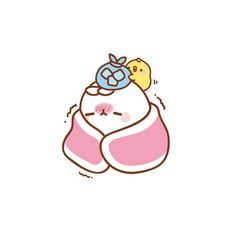 molang is sick Kawaii Bunny, Cute Kawaii Animals, Kawaii Chibi, Kawaii Art, Cute Kawaii Drawings, Kawaii Doodles, League Of Legends Art, Cartoon Painting, Cartoon Art