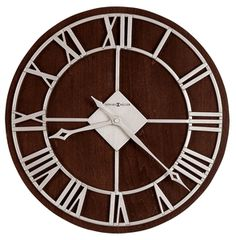 Prichard Wall Clock by Howard Miller