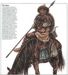 The Romans reported that the Huns consisted of a small ruling elite and their… Semitic Languages, Germanic Tribes, Historical Images, Anglo Saxon, Dark Ages, Ancient Rome, Roman Empire, Fantasy Art, Medieval