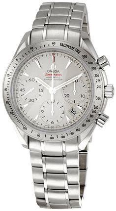 Omega men watches : Omega Men's 323.10.40.40.02.001 Speedmaster Chronograph Dial Watch (Speedmaster Reduced) my everyday watch :)