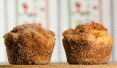 Pumpkin Doughnut Muffins - Framed Cooks