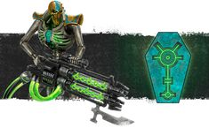 The classic image of a Necrons army is that of an implacable metallic wall – a serried mass of Warriors . Necron Army, Necron Warriors, Warhammer 40k Necrons, The Warlord, The Grim, Classic Image, Space Marine, Dark Fantasy Art, Egyptian