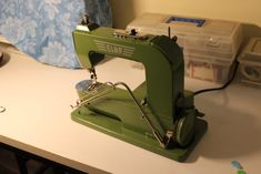 Vintage Sewing Machines Were Built to Last a Lifetime - Threads Vintage Sewing Machines, Sewing Hacks, Metal, Building, Classic, Derby, Buildings, Classical Music, Construction