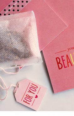 Tea Time Treats – free printables