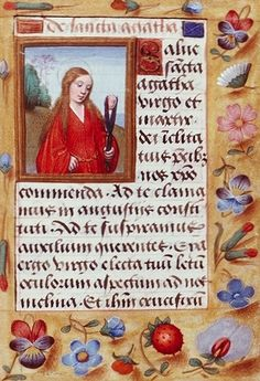 05/02 Ste Agathe, vierge et martyre