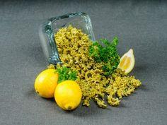 Lemon Parsley Mafaldine...The delicate flavor combination of lemon and ...