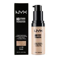 NYX Cosmetics Europe - FACE : HD STUDIO PHOTOGENIC FOUNDATION