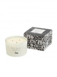 Rose Amber & Geranium Triple Wick Candle