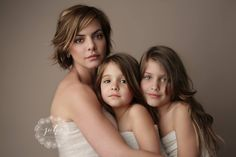 mother and daughter portraits