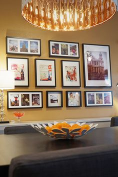 The IKEA Home Tour Squad Used RIBBA Frames To Create A Beautiful Gallery Wall Displaying Photos