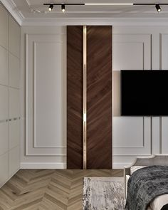 RR_Morskoy on Behance Loft Interior Design, Luxury Homes Interior, Interior Styling, Wall Panel Design, Neoclassical Interior, Loft Interiors, Contemporary Interior, Modern Classic Interior, Contemporary Office