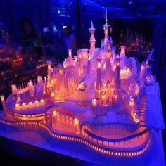 3-d paper castle