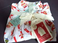 2T Pottery Barn Kids ELF Flannel NIGHTGOWN Christmas Xmas Holiday GIFT Santa NEW #PotteryBarnkids #Nightgown
