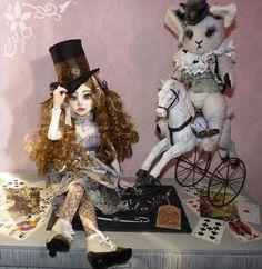 Alice, poupée de collection. Modèle unique : Jeux, jouets par oceane-ladydoll