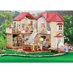 """Calico Critters Luxury Townhouse - International Playthings - Toys """"R"""" Us"""
