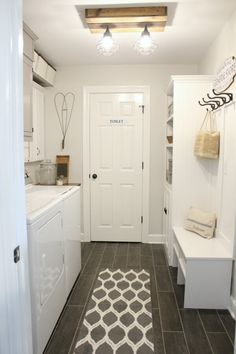 """Receive fantastic tips on """"laundry room storage diy"""". They are offered for you on our website. Laundry Room Organization, Laundry Room Design, Laundry Rooms, Laundry Closet, Laundry Storage, Laundry Decor, Laundry Room Bathroom, Basement Bathroom, Small Bathroom"""