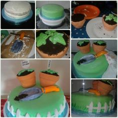Flower pot cake all edible made by cakes Avenue #cake #cakery #flowers #flowerpot #garden