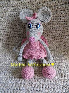 MartaZ / myška Crochet Hats