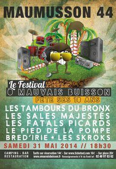 Le Festival ô Mauvais Buisson, Maumusson (44540), Pays de la Loire