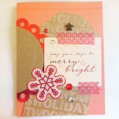 Pretty Chrismas Card by April Joy Hill for SEI