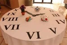 Image Search Results for around the clock bridal shower centerpieces