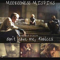 New album by Meereenese Misfits #dontleavemekhaleesi #gameofthrones
