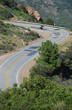 """AKA """"The Snake,"""" this is a Very Cool road. On any given day you will find people doing silly things on overpowered vehicles here."""