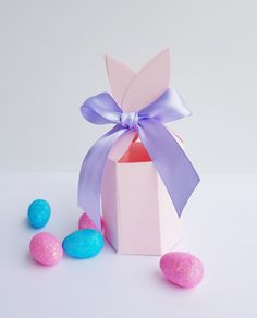 FREE Bunny Ears gift box Printable for Easter | Now thats Peachy