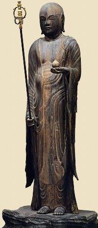Jizo Bosatsu, Late Heian Period, Byodo-in Temple (Kyoto)