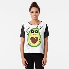 Avocado, Chiffon Tops, Shirts, Fashion, Heart, Ideas, Moda, Lawyer, Fashion Styles