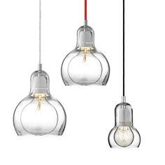 Sofie Replica Mega Bulb Glass Pendant Light. by GlassandbrassCo, $90.00