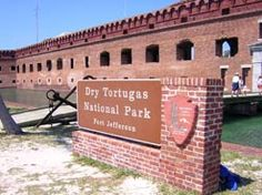 Dry Tortugas The most remote park in the US may just be the most beautiful too.  Clear ,azure, tropical water with sandy beaches and fine snorkeling.