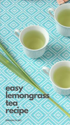 Easy Lemongrass Tea Recipe You'll Want to Make Today - Zen Health Lemongrass Recipes, Lemongrass Tea, Lemongrass Essential Oil, Yummy Drinks, Healthy Drinks, Healthy Recipes, Tumeric Tea Recipe, Tea Recipes, Cooking Recipes